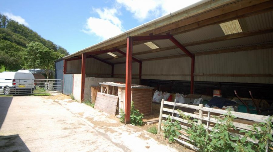 THREE BAY MODERN IMPLEMENT SHED