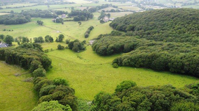 Part of Ffynnonwen Land,
