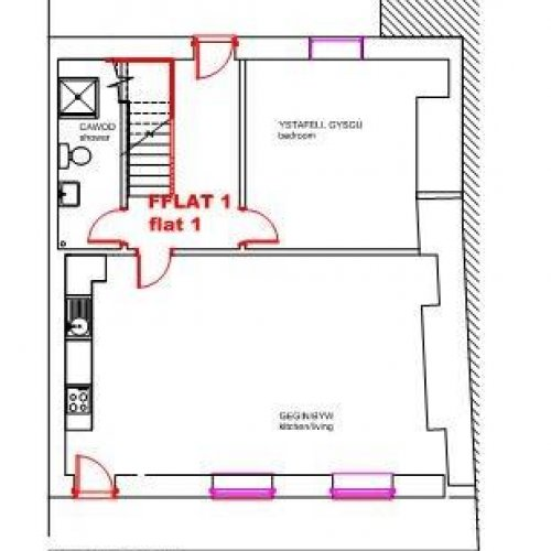 Flat 1, 9 Laura Place