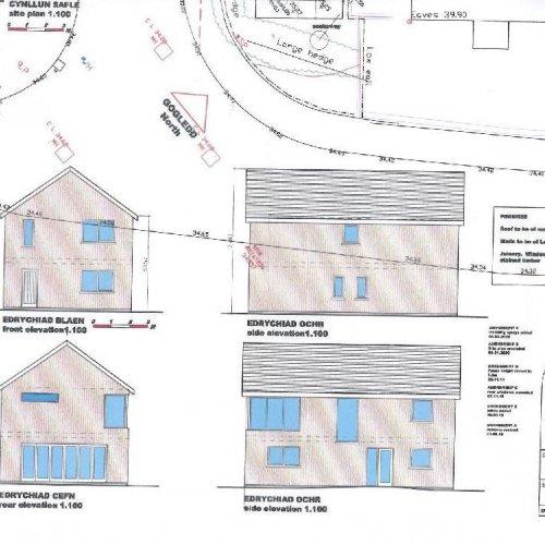 Plot Adj to Gwernllwyn Piercefield Lane