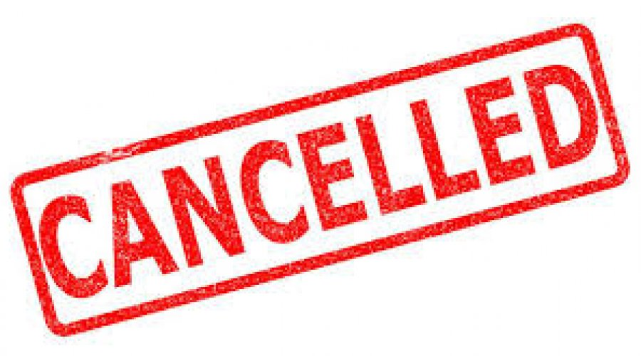 November Machinery sale - Cancelled